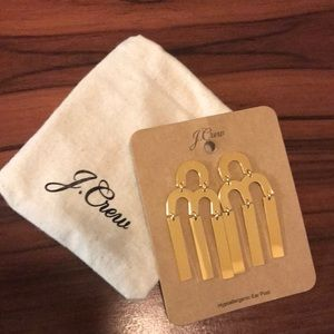 J. Crew Gold Plated Earrings